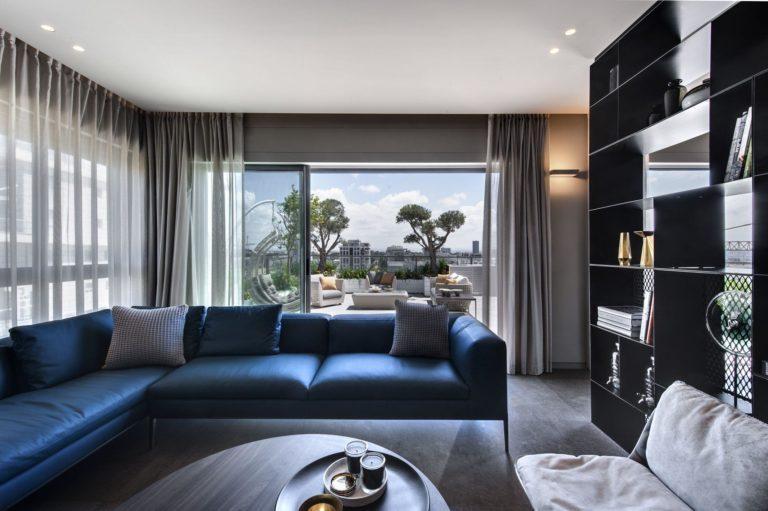 דירת פנטהאוז בתל אביב